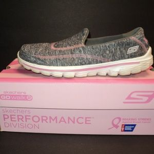 Skechers Size 9 Go Walk 2 Strong Awareness Shoes